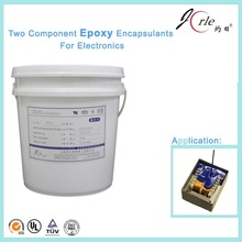 Chemical two component LED epoxy resin adhesive sealant
