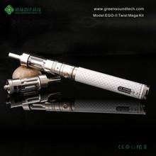2015 High demand products vape band in Korea hgh vapor wooden mod e-cig from EGO II TWIST MEGA kit ego vaporizer pen