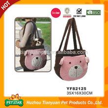 Dot Pattern Adjustable Shoulder Handle Cute Design Dog Carrier Bag