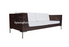 Long shape rattan handmade sell to dubai outdoor furniture LG91-SFR-803