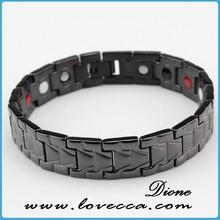 2015 Fashion health gift fashion germanium anti-static titanium magnetic energy bracelets