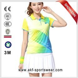 badminton t-shirt/yonex badminton t-shirt/badminton shirt