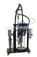 hengdi company silicone sealant extruder machine hydraulic driving insulating glass machine
