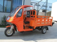Semi-closed Tricycle 200cc Cargo tricycle air cooled gasoline tricycle with CCC