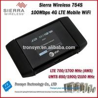 Cheapest Originla Unlock LTE FDD 100Mbps Sierra Wireless Aircard 754S Portable 4G LTE GPRS Wireless WiFi Router