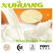 Fuente de la fábrica Halal de proteína de suero / proteína de suero de leche concentrado 80 / venta al por mayor polvo de proteína de suero