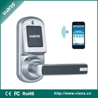 HOT SELLING! excellent quality cell phone unlock bluetooth Smart Door Lock