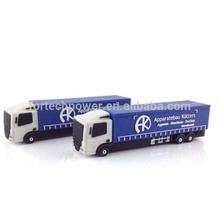 fashionable usb memory stick, business usb flash drive,long truck usb flash drive