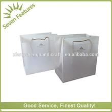 Customized Square Bottom Plastic PP shopping bag