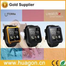 2015 Newest U UTERRA Bluetooth Touchscreen Smart Wrist Watch for Android