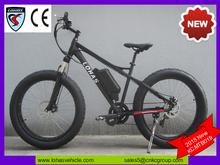matte black 500 watt 48v mid drive electric bike with lightweight MTB shell frame (KCMTB019)