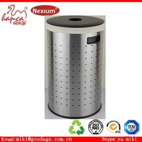 wash room laundry bin with liner