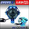 OVOVS 12V-80V high power led motorcycle fog lights with strong light, weak Light, flashing Light