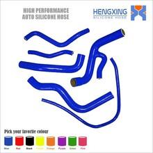 Flexible Silicone Radiator Hose Kit For Yamaha FZ6 FZ 6 Y36 2005 6pcs