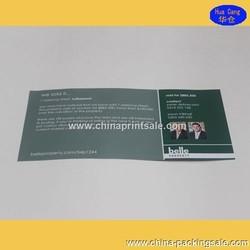 2015 New Paper Folded Printing Leaflet/OEM Booklets/Flyer/Brochure