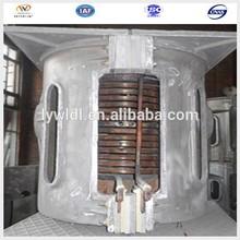 1ton small aluminum electric smelting furnace for smelting aluminum alloy