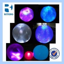 hotsale promotional EN71 inflatable glow beach ball