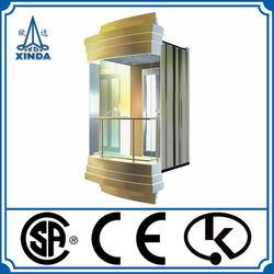 6 Person Building Glass Elevator Cabin