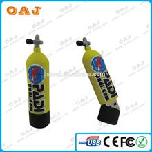 OEM design bottle shaped PVC usb flash drive, wine bottle usb memory stick 1-32GB