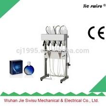 Cosmetic vacuume bottle liquid filling machine