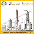 Física pura agua de refrigeración tecnología de fácil operación de aceite del transformador refinería de petróleo planta