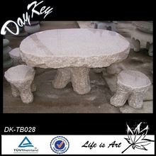 High quality life size square stone marble coffee table