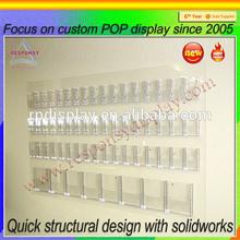 Clear Custom Wall Acrylic Display Shelves and Rack