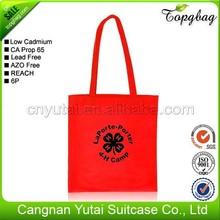 Oem factory china custom nonwoven bag shopping