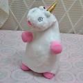 de alta calidad de peluche de felpa unicornio