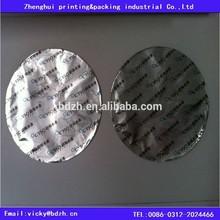 Printed Sealing Aluminu Foil Sealer Lid Pieces