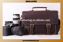 Vintage Retro Look Genuine Leather Camera Bag