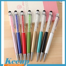 Promotional Crystal Bling Stylus Pen for iPhone for iPad