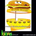 2015 de fibra de vidro hamburger projeto quiosque / barato quiosque alimentos / rua quiosque para venda