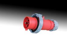 Ce/cb Ip44 3p+n+e Wall Industrial Socket Electrical Plug&amp