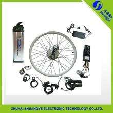 Two warranty Electric bicycle kit / E bike conversion kit /24V/36V/48V 250-1000W / hub Motor