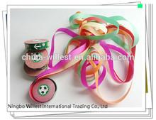Wedding confetti , beautiful long color streamers , tissue paper party confetti decoration