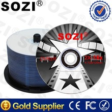 Blu ray DVD Disc, 100% high quality, 4.7 GB, professional OEM ,from China Gold Factory