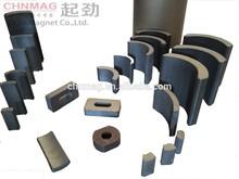 arc ferrite magnet applied in various motor