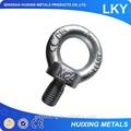 drop forjados aparelhamento de aço carbono galvanizado levantamento din580 olho bolt