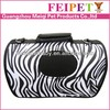 2015 fashion zebra pattern mesh pet bag pet carrier box