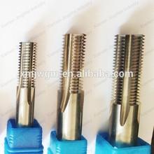 Tungsten carbide thread mill, thread milling cutter, thread end mill