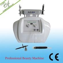 BYI-H005 hydro peel exfoliating scrub oxygen machine for skin care