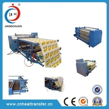 roll to roll heat transfer printing machine