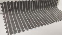 2015 Collection Asphalt & Ash Grey Stripes Fabric