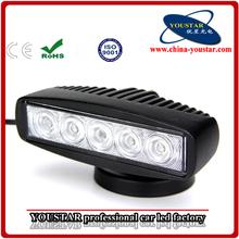 mini cooper led light bar 15w Off Road LED Work Light Bar Flood Beam Truck 4x4