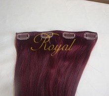 Sexy Hair Extension Hot Lady Clip In Hair 7 pieces for Party