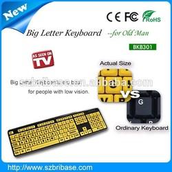 B-KB301 factory supply big letter keyboard for laptop