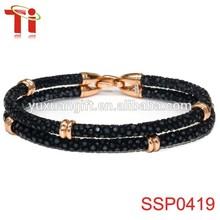 Charm costume jewelry fashion bracelet for woman, stingray leather china bracelet