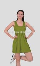 The skirt of merino wool