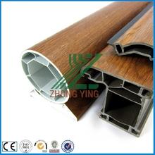 Excellent wood texture interior upvc accordion door track